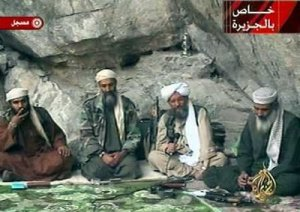 Osama bin Laden in Cave with Hooka Decor